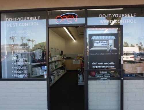 DIY Pest Control Mesa Store Remodel